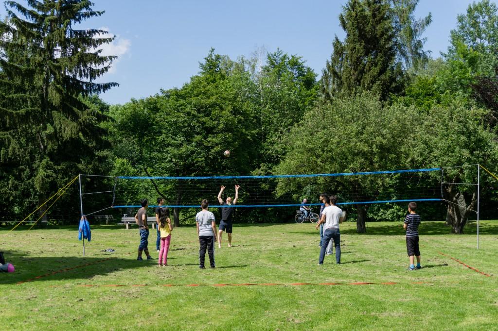 Volleyball im Weißenseepark